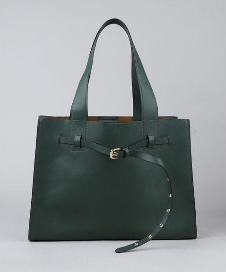 Bolsa-Feminina-Tote-com-Fivela-e-Ilhos-Verde-9379097-Verde_1