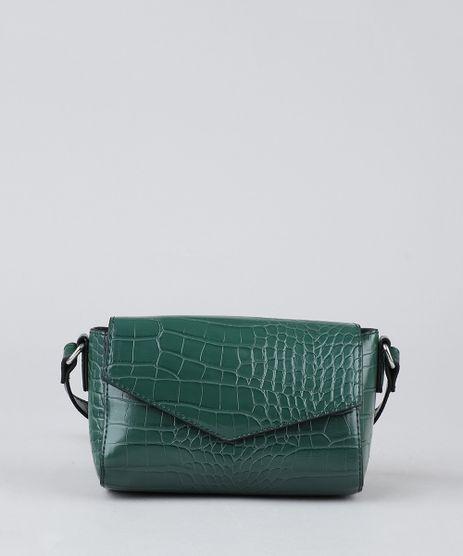 Bolsa-Feminina-Transversal-Texturizada-Verde-9386712-Verde_1
