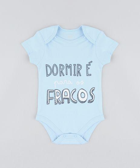 Body-Infantil--Dormir-E-Para-os-Fracos--Manga-Curta-Decote-Redondo-Azul-Claro-9208135-Azul_Claro_1