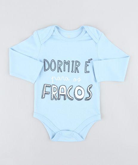 Body-Infantil--Dormir-E-Para-os-Fracos--Manga-Longa-Decote-Redondo-Azul-Claro-9208139-Azul_Claro_1