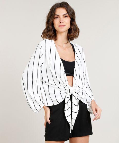 Kimono-Feminino-Curto-Listrado-com-No-Manga-Longa-Off-White-9433075-Off_White_1