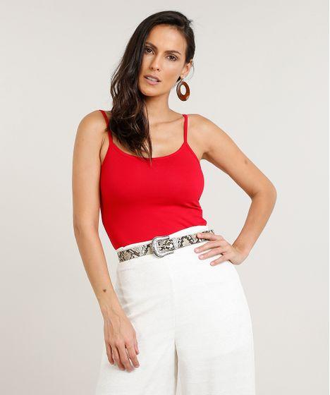 78dd5eba93 Regata-Feminina-Basica-de-Alca-Vermelha-8527765-Vermelho 1 ...