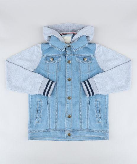Jaqueta-Jeans-Infantil-com-Capuz-e-Moletom-Azul-Claro-9358258-Azul_Claro_1