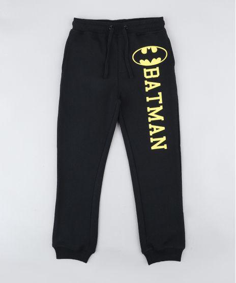 Calca-Infantil-Batman-em-Moletom-Preta-9341647-Preto_1