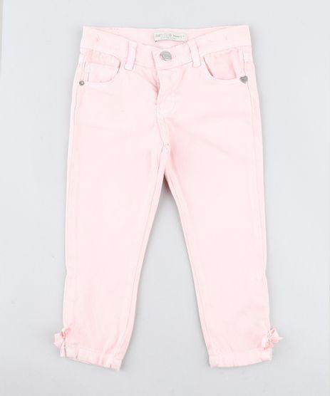 Calca-Infantil-Skinny-com-Laco-Rosa-Claro-9418153-Rosa_Claro_1
