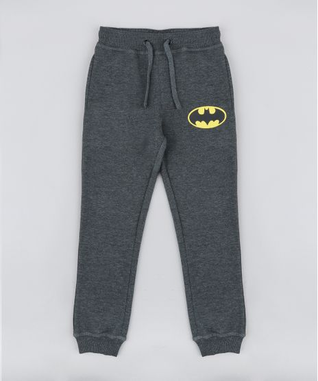 Calca-Infantil-Batman-em-Moletom-Cinza-Mescla-Escuro-9341341-Cinza_Mescla_Escuro_1