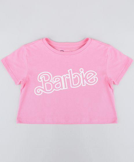 Blusa-Infantil-Barbie-Cropped-Manga-Curta-Decote-Redondo-Rosa-9410409-Rosa_1