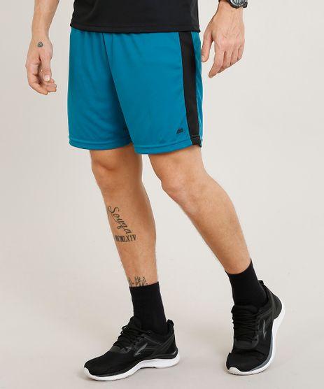 Short-Masculino-Esportivo-de-Futebol-com-Faixas-Laterais-Verde-9295179-Verde_1