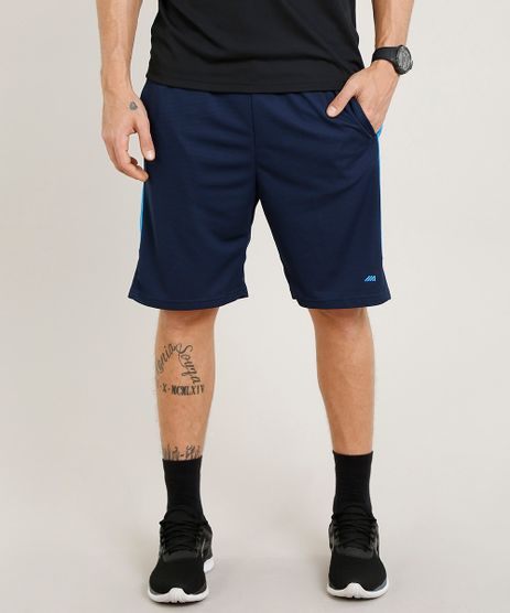 Bermuda-Masculina-Esportiva-de-Treino-Ace-com-Recorte-Lateral-Azul-Marinho-9268282-Azul_Marinho_1