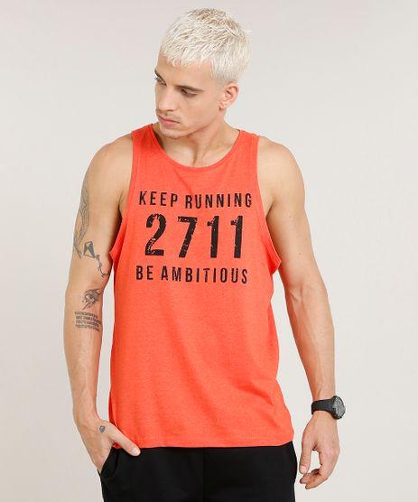 Regata-Masculina-Esportiva-Ace--Keep-Running--Gola-Careca-Coral-9476959-Coral_1