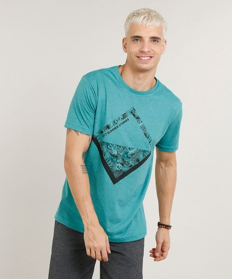 Camiseta-Masculina--Summer-Stories--Manga-Curta-Gola-Careca-Verde-9236399-Verde_1