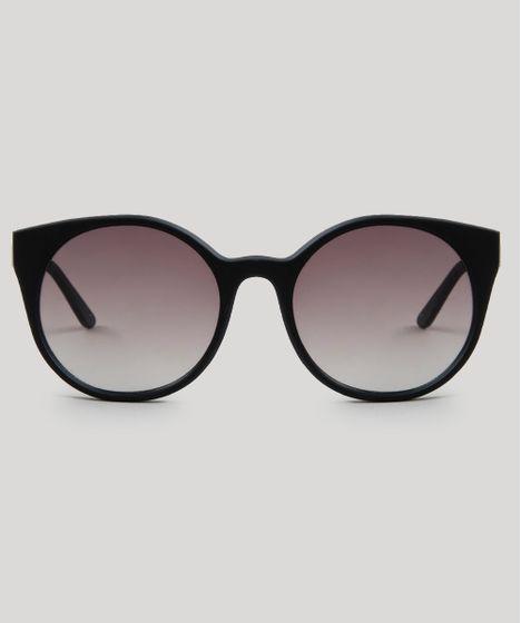bfea08f1e Oculos-de-Sol-Redondo-Feminino-Oneself-Preto-9468006- ...