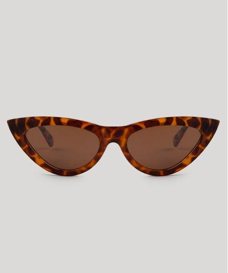 Oculos-de-Sol-Gatinho-Feminino-Oneself-Tartaruga-9485654-Tartaruga_1