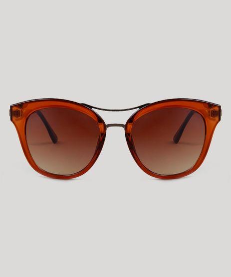 ecbed89227ae9 Oculos-de-Sol-Quadrado-Feminino-Oneself-Marrom-9485678-