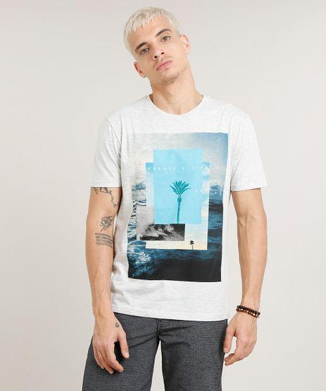 Camiseta-Masculina--Create-a-Life--Manga-Curta-Gola-Careca-Cinza-Mescla-Claro-9418436-Cinza_Mescla_Claro_1