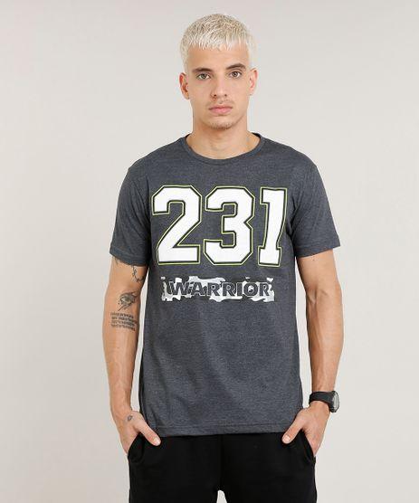 Camiseta-Masculina-Esportiva-Ace--Warrior--Manga-Curta-Gola-Careca-Cinza-Mescla-Escuro-9410507-Cinza_Mescla_Escuro_1