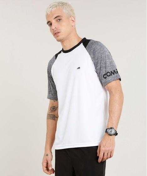 92eb745ae7 Camiseta Masculina Esportiva Ace Raglan Manga Curta Gola Careca ...
