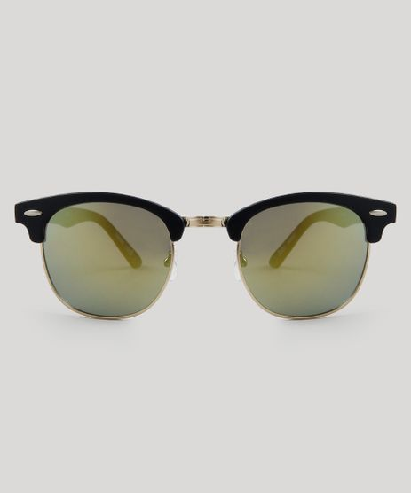 3033801d8a858 Oculos-de-Sol-Redondo-Feminino-Oneself-Preto-9485627-