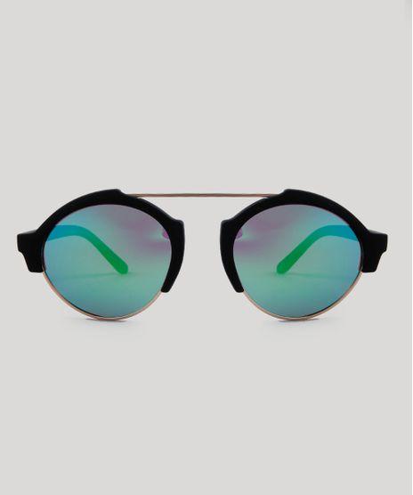 Oculos-de-Sol-Redondo-Unissex-Oneself-Preto-9485651-Preto_1