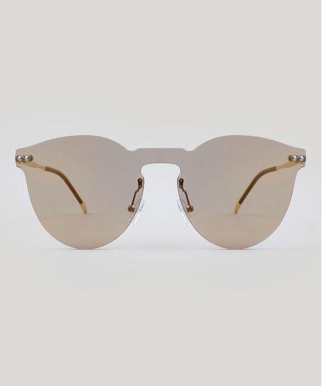 9fc58439ac871 Oculos-de-Sol-Redondo-Feminino-Oneself-Dourado-9485645-