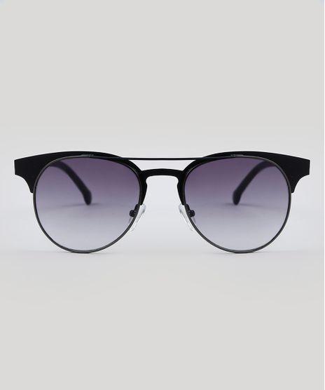 e49c38743f6c0 Oculos-de-Sol-Redondo-Unissex-Oneself-Preto-9485633-