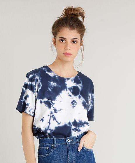 T-Shirt-Feminina-Mindset-Oversized-Estampada-Tie-Dye-Manga-Curta-Azul-Marinho-9516263-Azul_Marinho_1