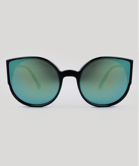 Oculos-de-Sol-Redondo-Feminino-Oneself-Preto-9485621- 3ea78f23a7