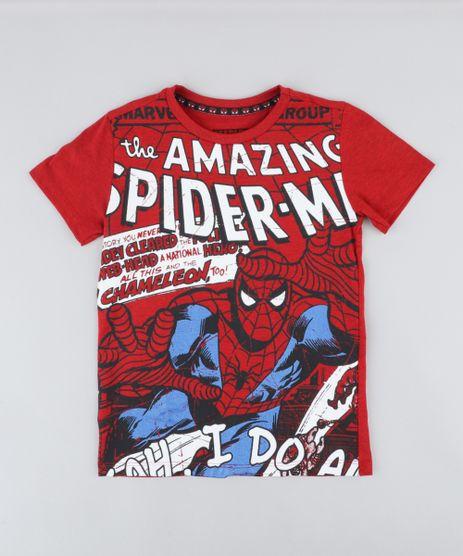Camiseta-Infantil-Homem-Aranha-Manga-Curta-Gola-Careca--Vermelha-9219305-Vermelho_1