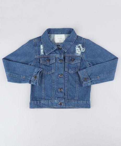Jaqueta-Jeans-Infantil-com-Rasgos-Azul-Escuro-8649309-Azul_Escuro_1