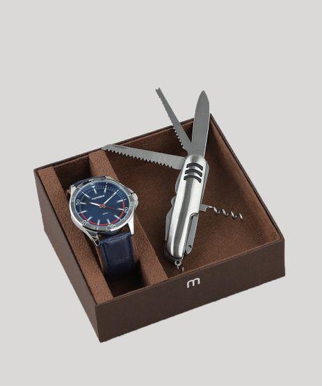 Kit-de-Relogio-Analogico-Mondaine-Masculino---Canivete---83375G0MVNH2KA-Azul-9263302-Azul_1