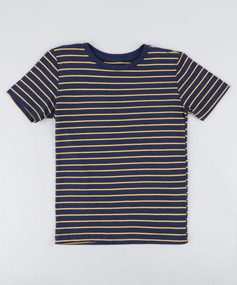 Camiseta-Infantil-Listrada-Manga-Curta-Gola-Careca-Azul-Marinho-9442799-Azul_Marinho_1