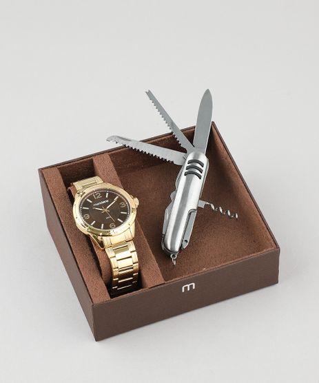 4a055a0d020 Kit-de-Relogio-Analogico-Mondaine-Masculino---Canivete-
