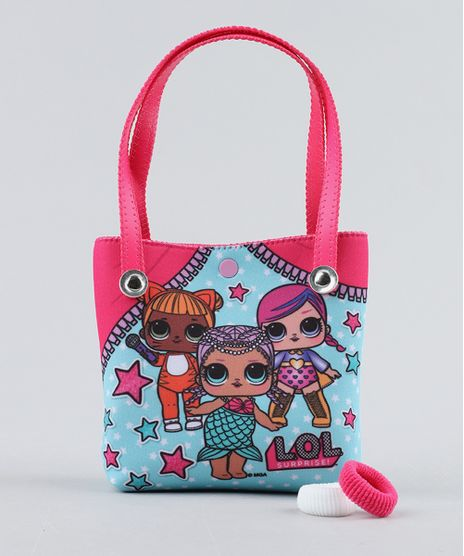 Bolsa-Infantil-LOL-Surprise---Elasticos-de-Cabelo-Pink-9442857-Pink_1