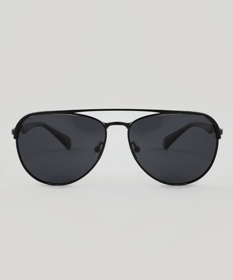 Oculos-de-Sol-Aviador-Unissex-Oneself-Preto-9510037- 1d797e16e4