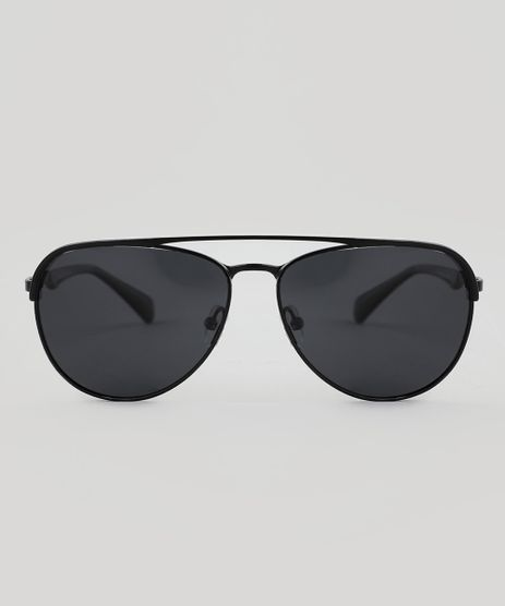 Oculos-de-Sol-Aviador-Unissex-Oneself-Preto-9510037- 8b6b092c00