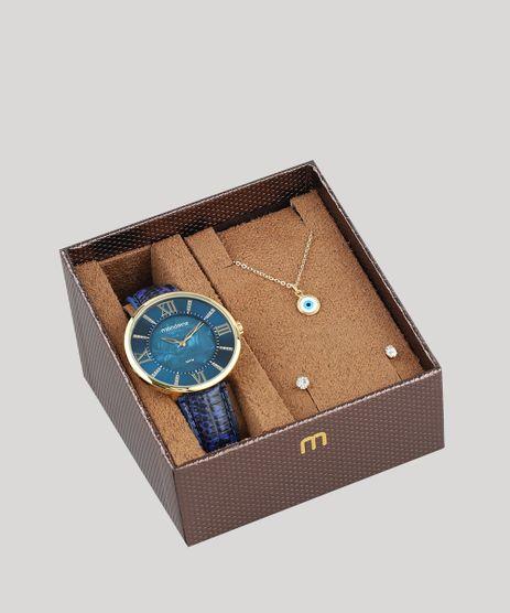 Kit-de-Relogio-Analogico-Mondaine-Feminino---Brinco---Colar---53713LPMVDH1K-Azul-9507690-Azul_1