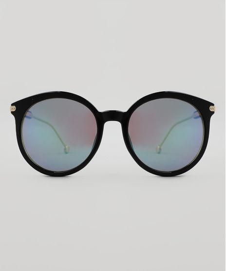 Oculos-de-Sol-Redondo-Feminino-Oneself-Preto-9510040-Preto_1