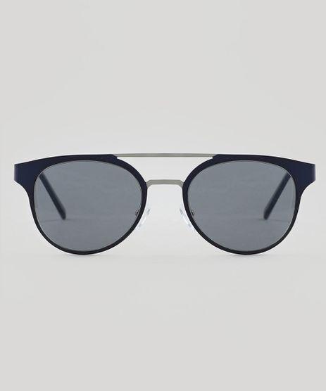 Oculos-de-Sol-Redondo-Feminino-Oneself-Azul-9509991-Azul_1