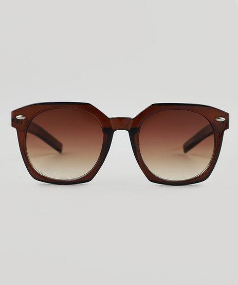 ab8399e48eed1 Oculos-de-Sol-Redondo-Feminino-Oneself-Vinho-9510027-