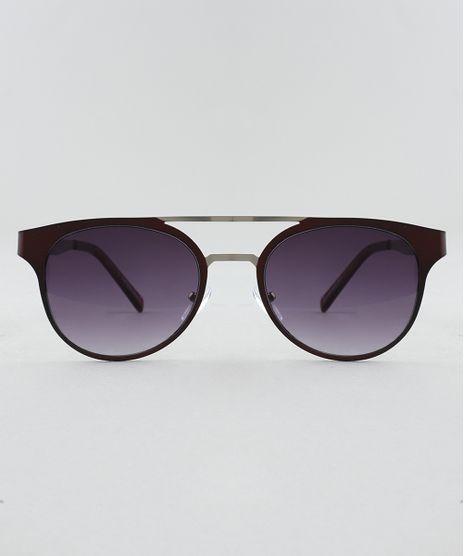 Oculos-de-Sol-Redondo-Feminino-Oneself-Vinho-9509994-Vinho_1