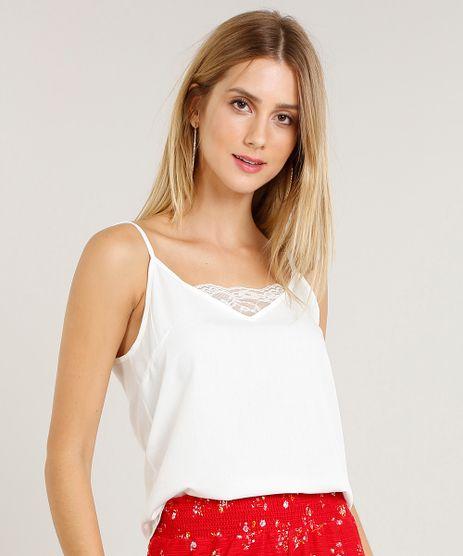 Regata-Feminina-com-Renda-Decote-V-Off-White-9424464-Off_White_1