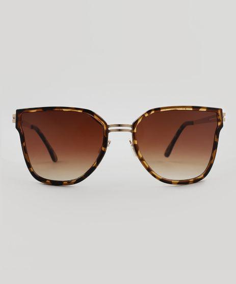 Oculos-de-Sol-Quadrado-Feminino-Oneself-Marrom-9510015-Marrom_1
