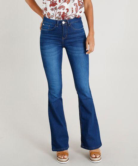 Calca-Jeans-Feminina-Flare-Cintura-Alta-Azul-Escuro-9071241-Azul_Escuro_1