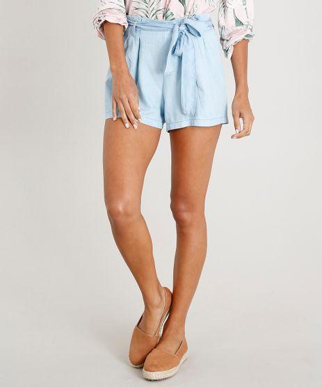 Short-Jeans-Feminino-Clochard-com-Faixa-de-Amarrar-Azul-Claro-9271817-Azul_Claro_1