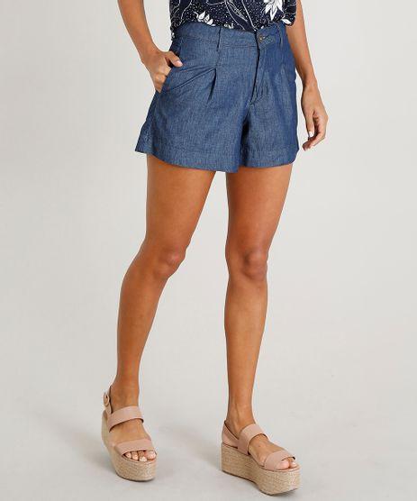 Short-Jeans-Feminino-Alfaiatado-Azul-Escuro-9475945-Azul_Escuro_1