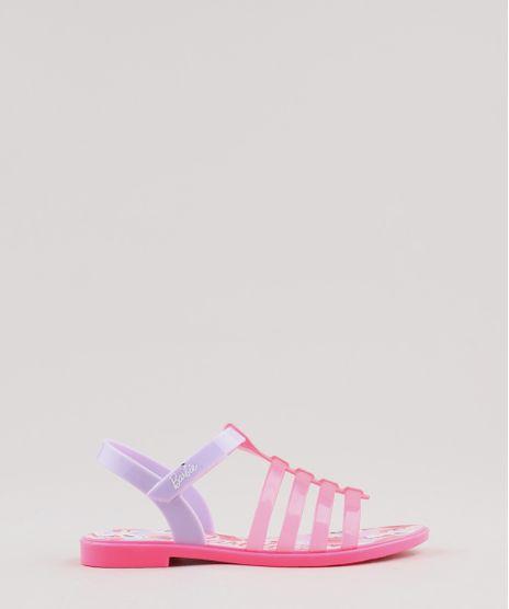 2cc7fa96e Rasteira-Infantil-Grendene-Barbie-Rosa-Neon-9470327-Rosa Neon 1