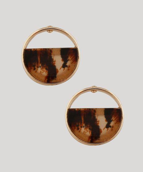 Brinco-Feminino-Redondo-Animal-Print-Dourado-9413000-Dourado_1