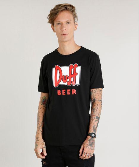 bb8756637 Camiseta Masculina Duff Beer Os Simpsons Manga Curta Gola Careca ...