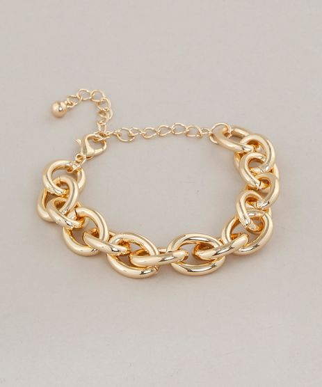 Pulseira-Feminina-de-Corrente-Dourada-9413275-Dourado_1