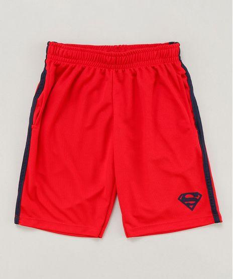 Bermuda-Infantil-Esportiva-Super-Homem-com-Faixas-Laterais-Vermelha-9454220-Vermelho_1